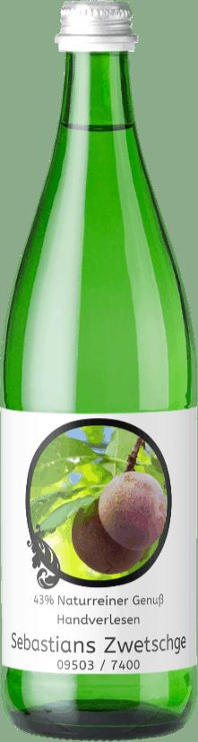 Flasche Zwetschgenschnaps